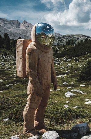 Le développeur en astronaute