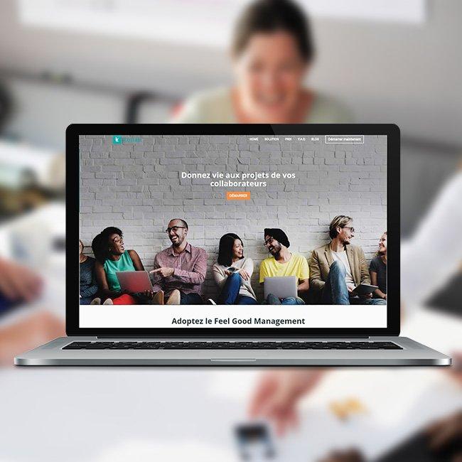 Site internet pour Collab