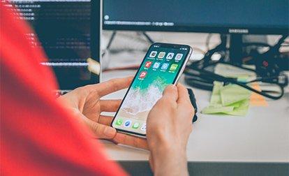 Tests d'une application sur iphone